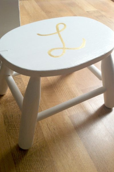 Monogram Stool by Farmhouse Made