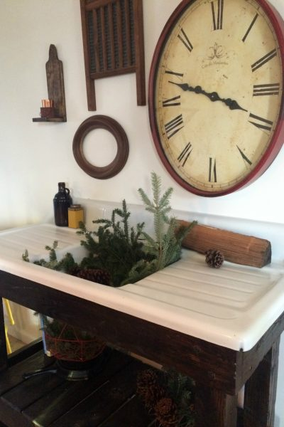 Our Antique Cast Iron Sink Project