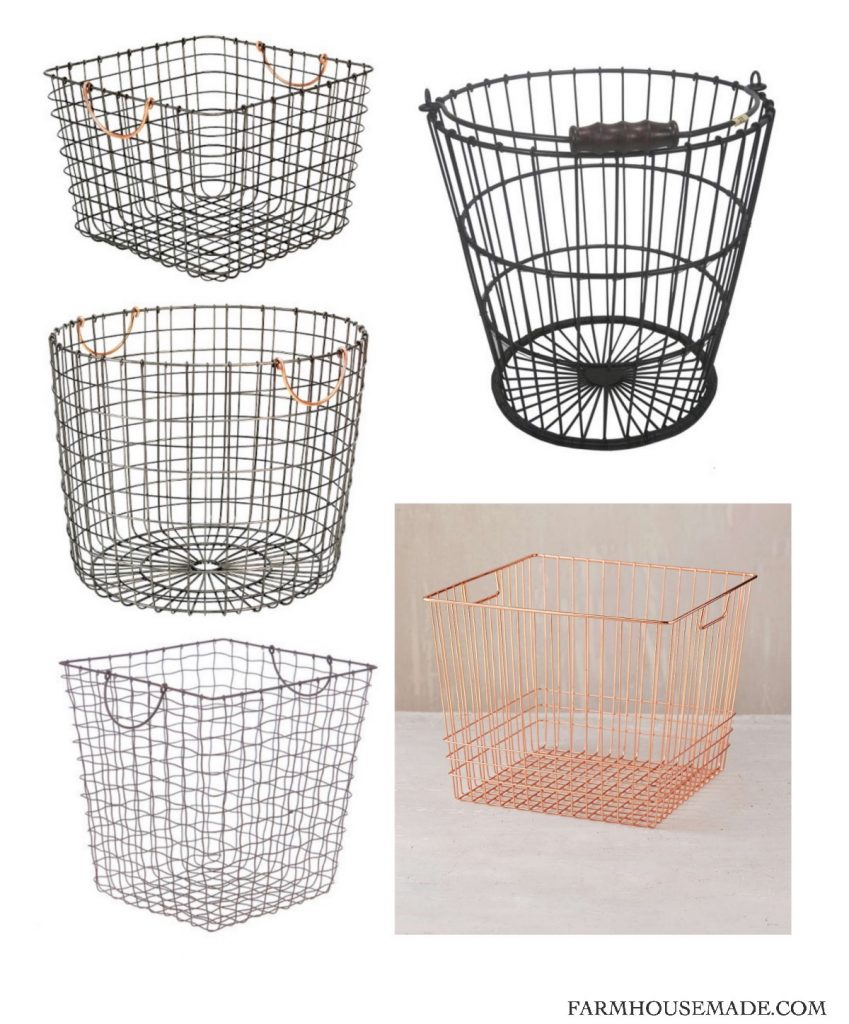 These 5 baskets can surely fix all my laundry mistakes!! Farmhouse Made