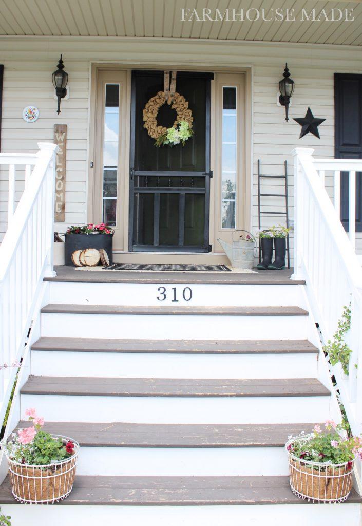 Farmhouse Porch - Welcome to the farmhouse!