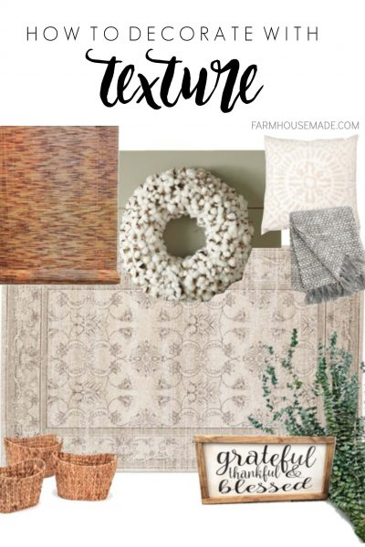 Lost on how to decorate with texture? Then you'll definitely want to check these super simple ways to add texture to your room, so you can achieve that polished, cozy look!