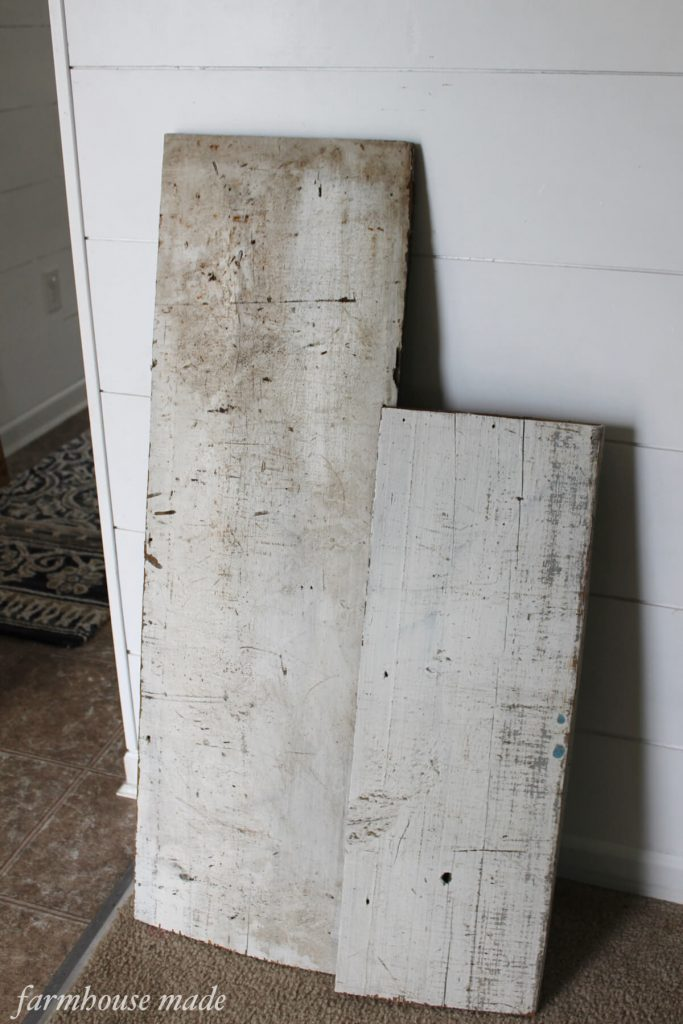Isn't this rustic wood perfect for making a hand painted rustic wood sign? Glad I found it just in time to make for my Christmas decor and gift making and giving!