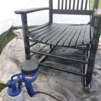 Looking for the simple way of painting furniture? You will love painting furniture now, I got this done in no time!