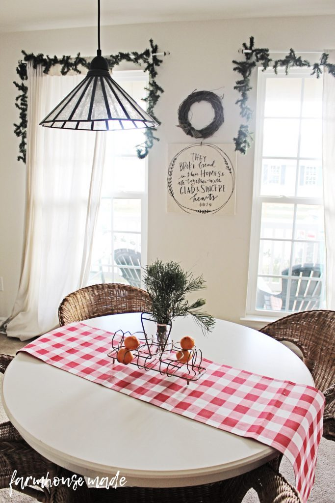 This is such a beautiful and simple farmhouse christmas decor tour! I love all the simple touches!