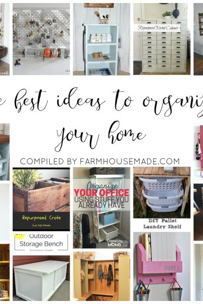 Some of the best ideas to organize your home. I need to organize my home so bad! Definitely trying #10!