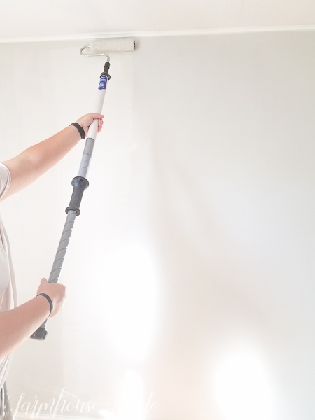 Looking for ways to paint like a pro? These tips will save you so much time, and you'll paint a room fast, with less mess! This paint stick is a huge time saver!