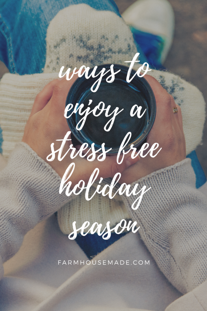Nearly everything is stress filled this time of year, so these sure-fire ways to stay stress free are going to have you sailing through this, and every, season!