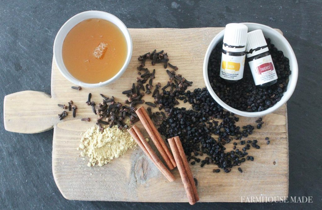 Use these antiviral, immune system strengthening ingredients to make a batch of elderberry syrup, at home!