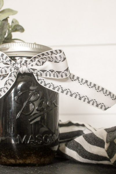 Making some simple elderberry syrup at home takes just a few immune strengthening, germ busting ingredients, and no time at all!