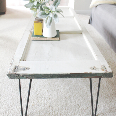 coffee table from shutter